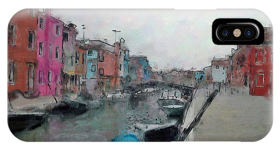 Ebsq IPhone X Case featuring the photograph Burano by Dee Flouton