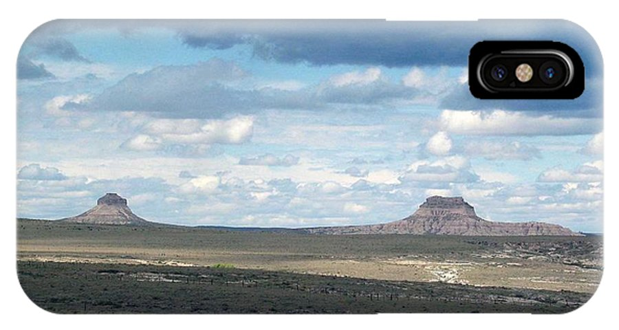 Big Sky IPhone Case featuring the photograph Buttes by Margaret Fortunato