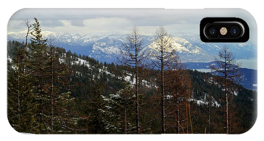 Bonner County IPhone X Case featuring the photograph Cabinet View by Idaho Scenic Images Linda Lantzy