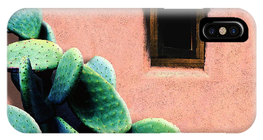 Cactus IPhone X Case featuring the photograph Cactus by Paul Wear