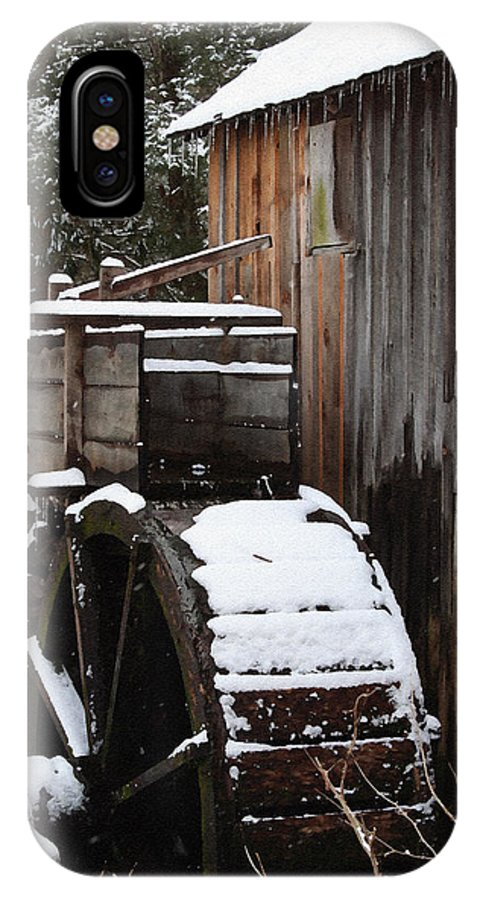 Great Smoky Mountains IPhone Case featuring the photograph Cades Cove Mill I by Margie Wildblood