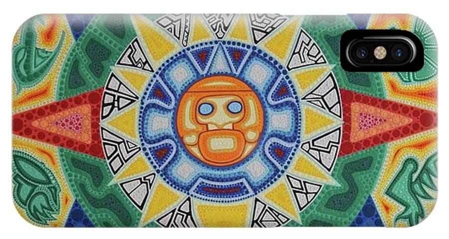 Calendario Azteca.Calendario Azteca Iphone X Case
