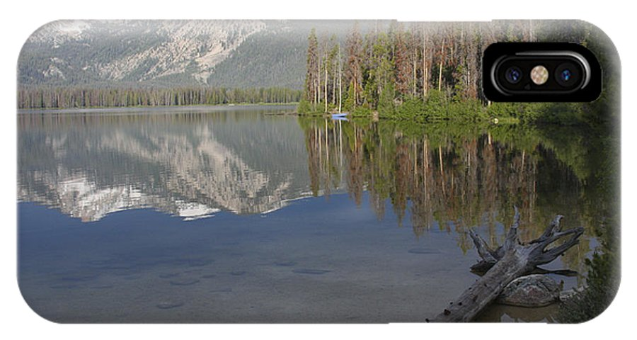 Stanley Lake IPhone Case featuring the photograph Calm Before The Storm by Idaho Scenic Images Linda Lantzy
