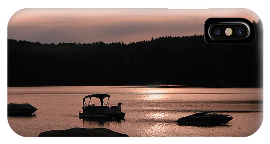 Photography Holderness Nh Photographs IPhone X Case featuring the photograph Calm Morning by Michael Mooney