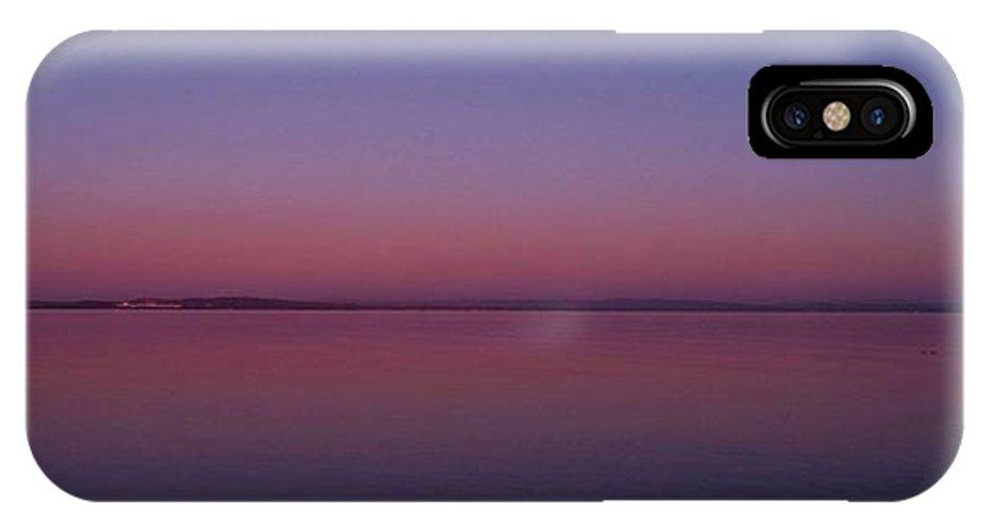 IPhone X Case featuring the photograph Calming by Scott Ledingham-Park