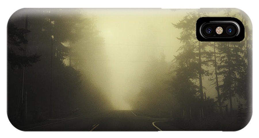 Fog IPhone Case featuring the photograph Camano Island Fog by Tim Nyberg