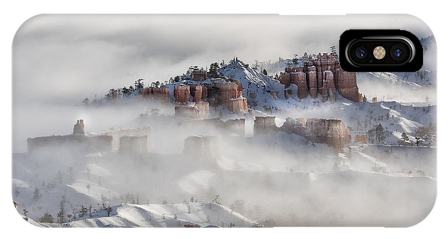 Sandra Bronstein IPhone X Case featuring the photograph Camouflage - Bryce Canyon, Utah by Sandra Bronstein