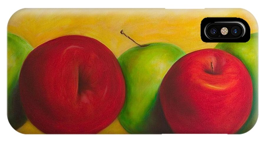 Still Life IPhone Case featuring the painting Cancan by Shannon Grissom