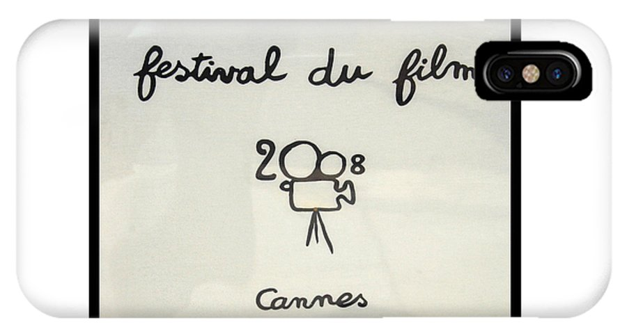 Color Photograph IPhone X Case featuring the photograph Cannes 2008 by Dan Albright