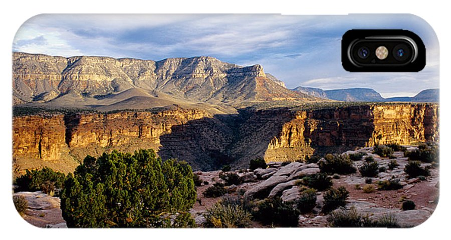 Toroweap IPhone X Case featuring the photograph Canyon Walls At Toroweap by Kathy McClure