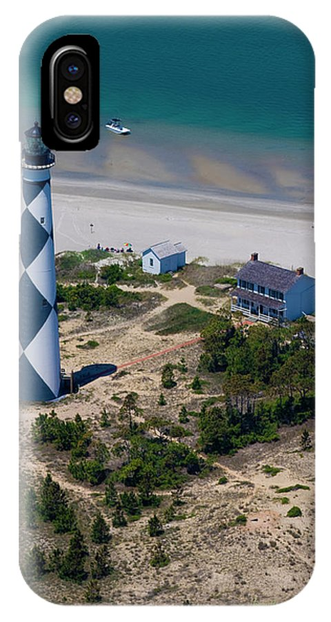 Cape IPhone X Case featuring the photograph Cape Lookout 4 by Betsy Knapp