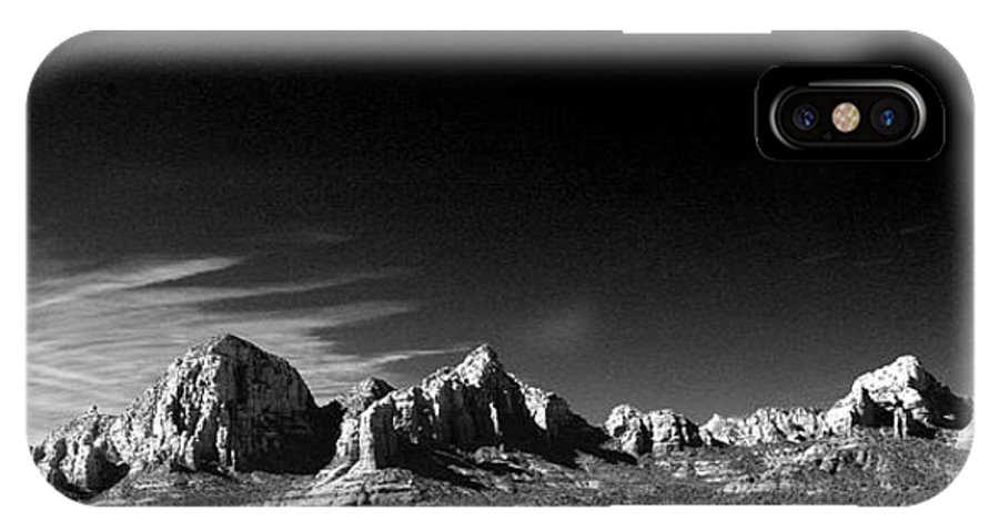Sedona IPhone X Case featuring the photograph Cd 3 by Randy Oberg