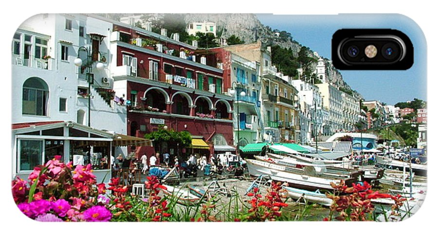 Capri IPhone Case featuring the photograph Capri by Donna Corless