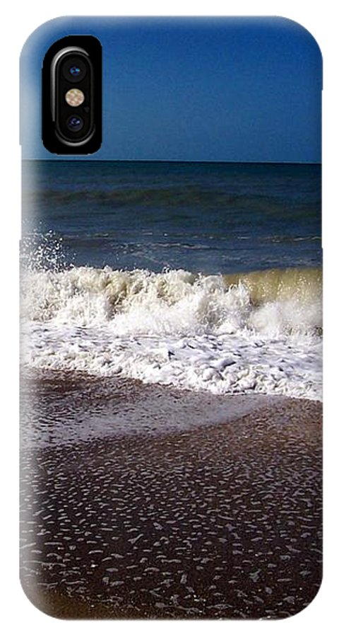 Ocean IPhone X Case featuring the photograph Captiva 2009 by Elizabeth Klecker