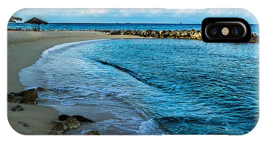 Beach IPhone X / XS Case featuring the photograph Caribbean Beach by Scott McKay