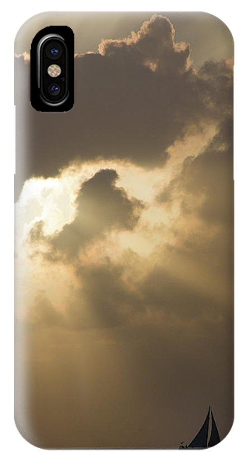 America IPhone X Case featuring the photograph Caribbean Skies And Light 2 by Riccardo Forte