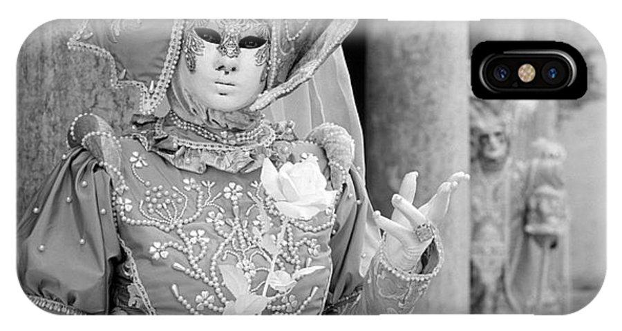 Venezia IPhone X Case featuring the photograph Carnevale Veneziano by Riccardo Mottola