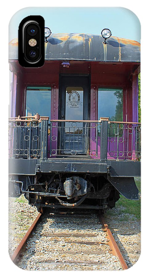 Carolina Southern IPhone X Case featuring the photograph Carolina Southern Dining Car by Suzanne Gaff