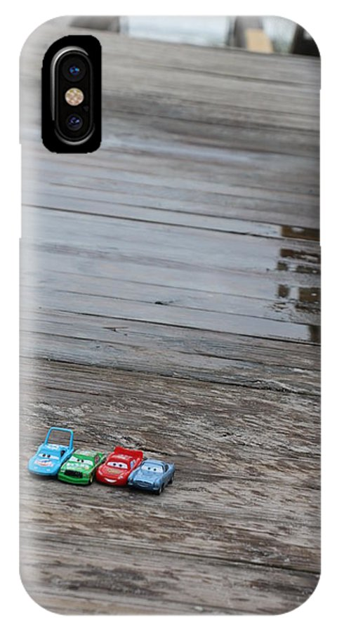 Cars IPhone X Case featuring the photograph Cars by Kami Gauvey