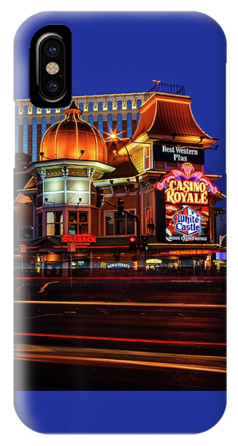 James Marvin Phelps Photography IPhone X Case featuring the photograph Casino Royale by James Marvin Phelps