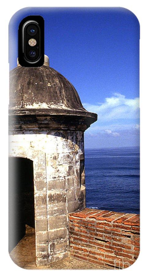 Puerto Rico IPhone X Case featuring the photograph Castillo De San Cristobal by Thomas R Fletcher