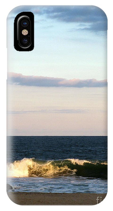 Ocean IPhone X Case featuring the photograph Catch A Wave by Colleen Kammerer