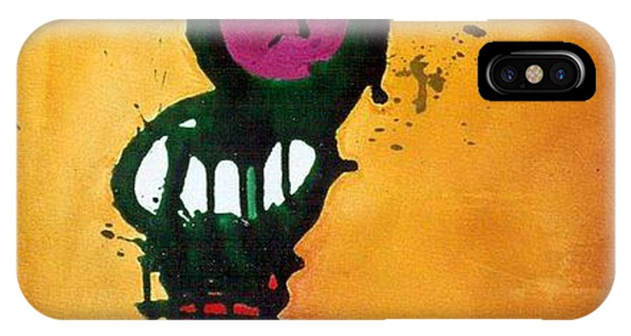 Insect IPhone Case featuring the painting Caterpillar by Marlene Burns