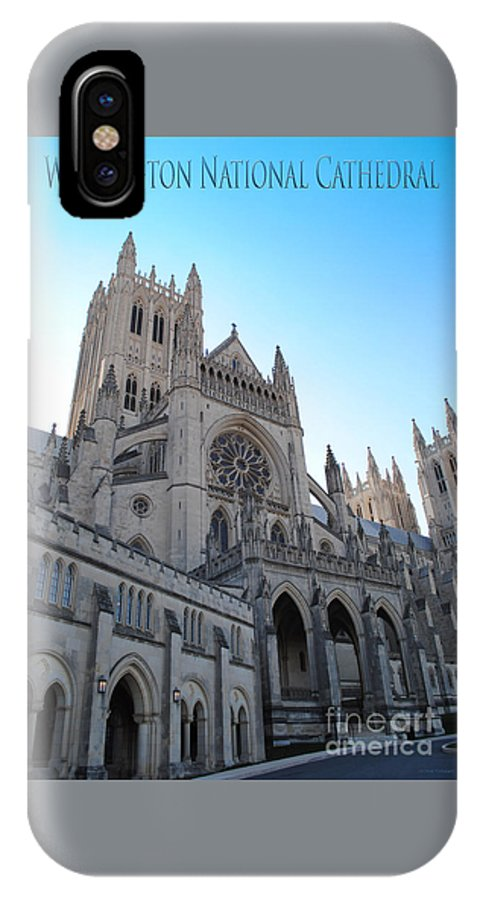 Washington IPhone X / XS Case featuring the photograph Cathedral Travel by Jost Houk