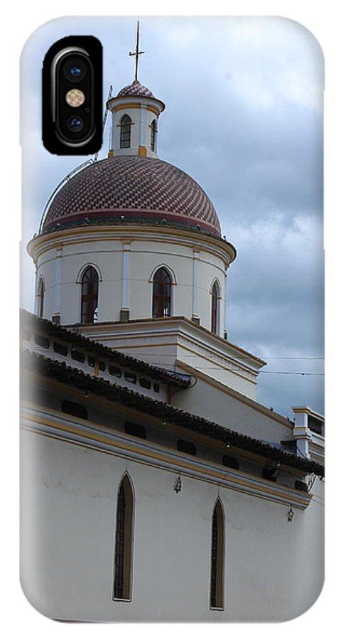 Church IPhone X Case featuring the photograph Catholic Church by Robert Hamm