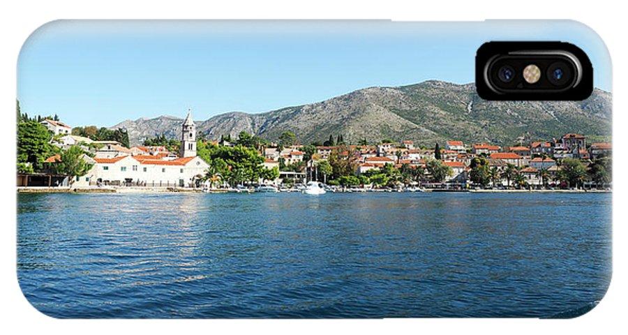 Cavtat IPhone X Case featuring the photograph Cavtat, Croatia by Moshe Torgovitsky