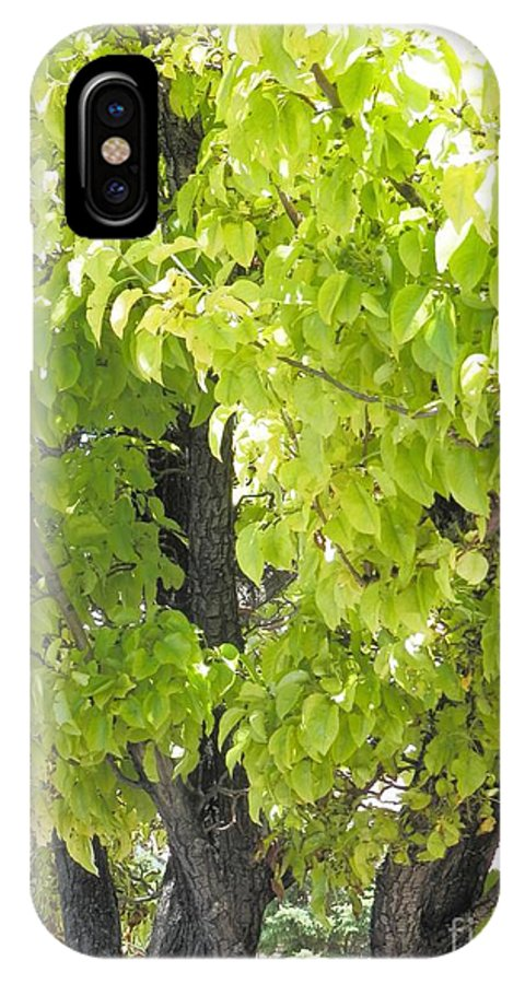Cedar City Utah IPhone X Case featuring the photograph Cedar City Welcome by L Cecka