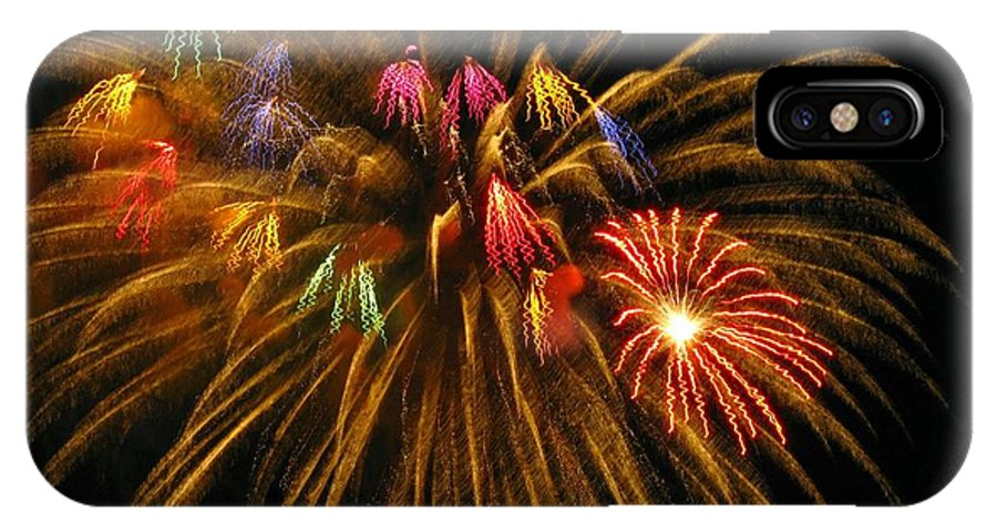Fireworks IPhone Case featuring the photograph Celebrate by Rhonda Barrett