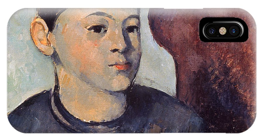19th Century IPhone X Case featuring the photograph Cezanne: Portrait Of Son by Granger