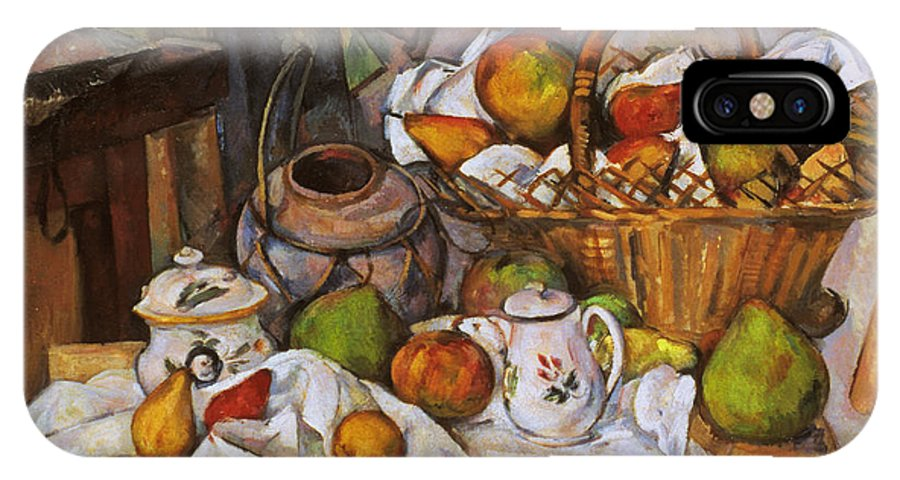 1890 IPhone X Case featuring the photograph Cezanne: Table, 1888-90 by Granger