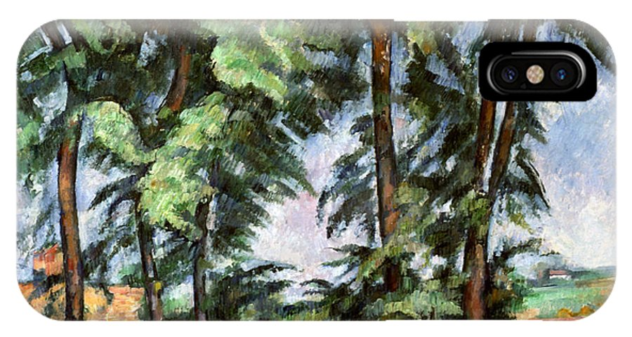 1887 IPhone X Case featuring the photograph Cezanne: Trees, C1885-87 by Granger