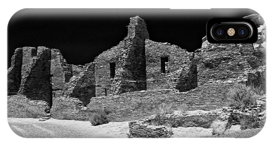 Chaco Canyon IPhone X Case featuring the photograph Chaco Fourteen by Paul Basile