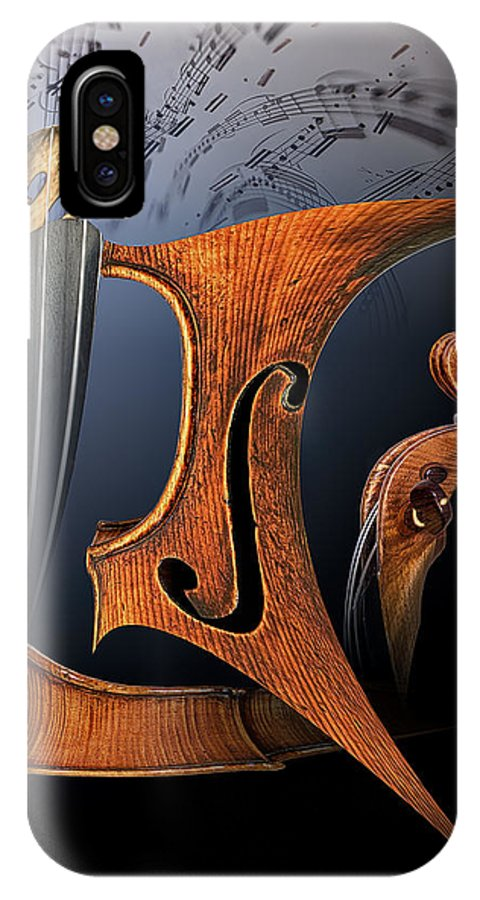 Abstracts IPhone X Case featuring the photograph Chaconne by Endre Balogh