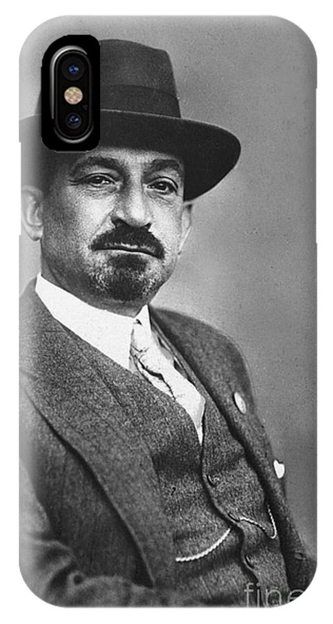 19th Century IPhone X Case featuring the photograph Chaim Weizmann by Granger