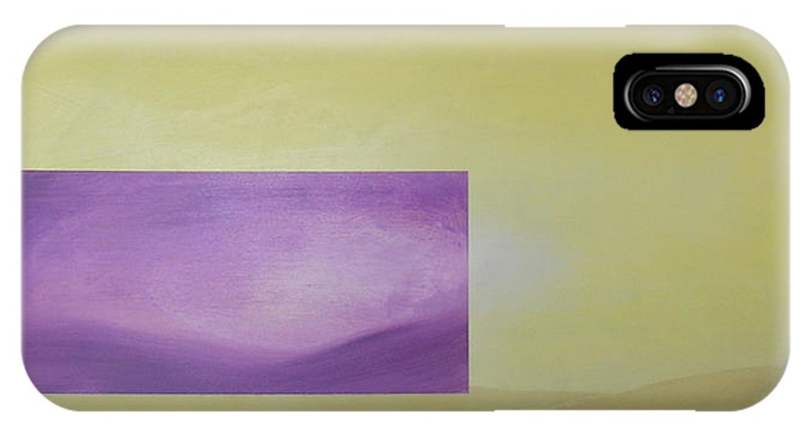 Abstract IPhone Case featuring the painting Change by Bojana Randall