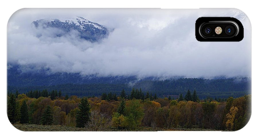 Landscapes IPhone X / XS Case featuring the photograph Changing Of The Season's by Broderick Delaney