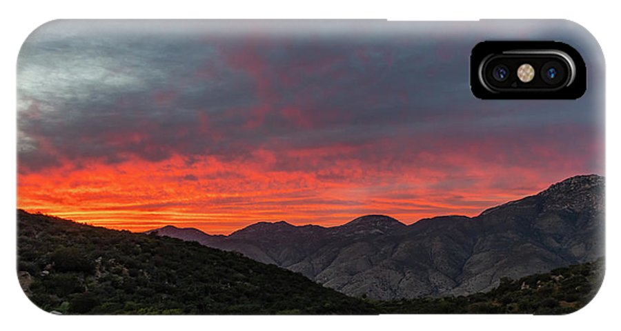 California IPhone X Case featuring the photograph Chaparral Dreams by TM Schultze