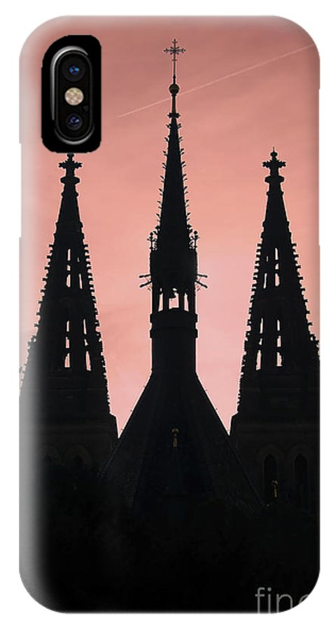 Church IPhone X Case featuring the photograph Chapter Church Of St Peter And Paul by Michal Boubin