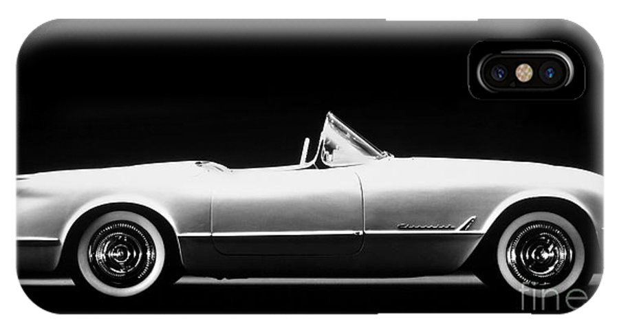 1953 IPhone X Case featuring the photograph Chevrolet Corvette, 1953 by Granger