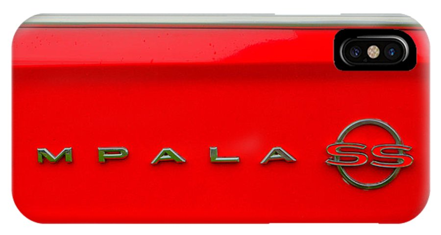 Chevy IPhone X / XS Case featuring the photograph Chevy Impala Ss 237 by Jeff Stallard