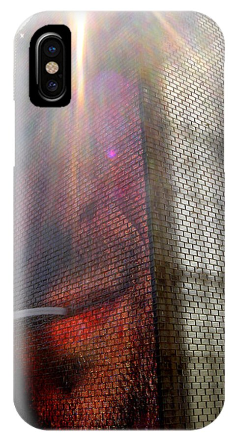 Chicago IPhone X Case featuring the photograph Chicago Crown Fountain 4 by Jean Macaluso