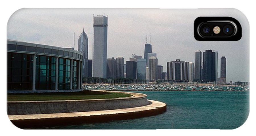 Chicago IPhone X Case featuring the photograph Chicago Waterfront by Gary Wonning