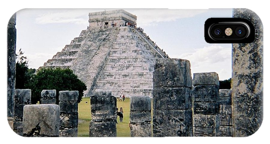 Chitchen Itza IPhone X Case featuring the photograph Chichen Itza 3 by Anita Burgermeister