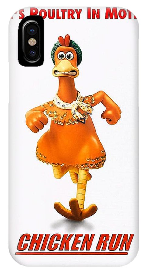 Chicken Run IPhone X Case featuring the photograph Chicken Run B by Movie Poster Prints