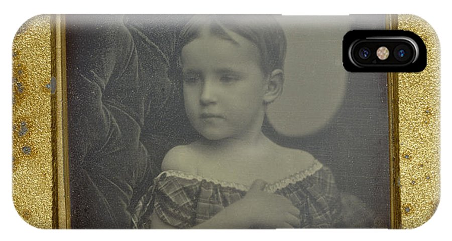 IPhone X Case featuring the photograph Child by Albert Sands Southworth And Josiah Johnson Hawes