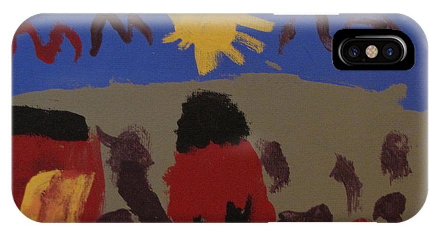 House IPhone Case featuring the painting Child by Melissa Parks